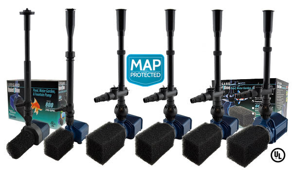 Quiet One® Pro Series Pond & Water Garden Pumps