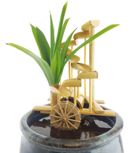 Bamboo Money Fountain