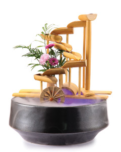 "12"" Bamboo Money Fountain"