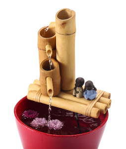 Bamboo 3-Tier Fountain